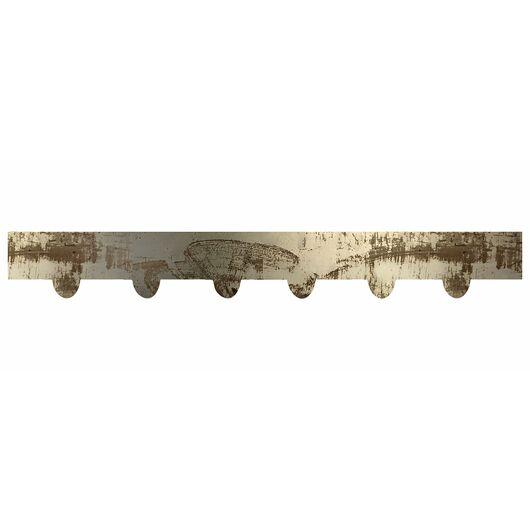 Bedkant - Råjern tænder - 10 x 110 cm