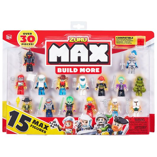 Max Build More - Figur-pakke 15 stk.