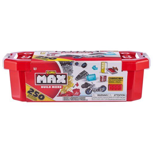 Max Build More - Accessories pakke med 250 dele