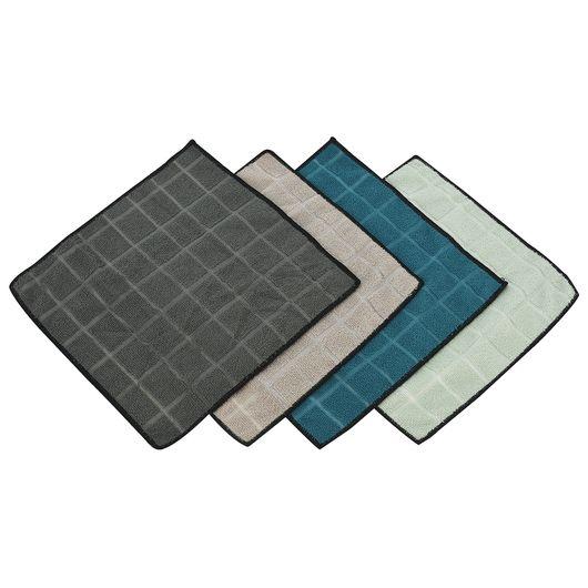 Mikrofiberklud 30 x 30 cm 4-pak
