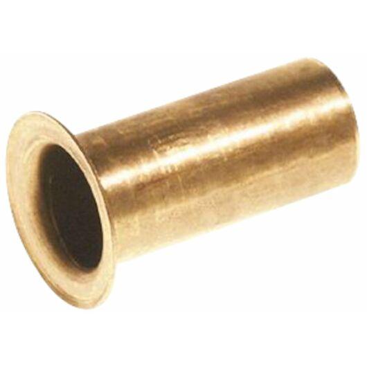 Støttebøsning til PEX-rør 15 mm 4-pak - messing
