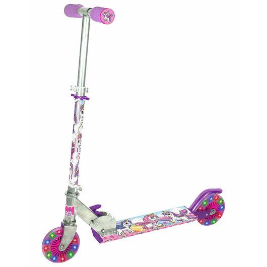Løbehjul med lysende hjul - Unicorn