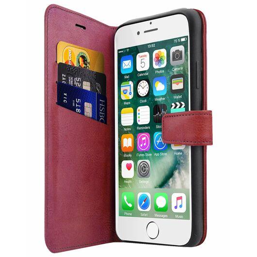 ITSKINS - Book omslag iPhone 6/6S/7/8/SE - rød