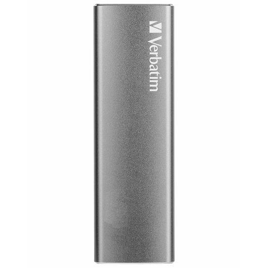 Verbatim - Ekstern SSD USB 3.1 240 GB - sølv