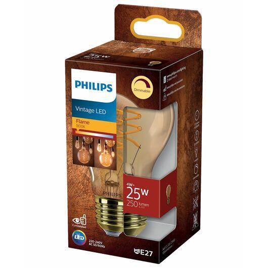 Philips - Filament 4W A60 E27 Gold dæmpbar