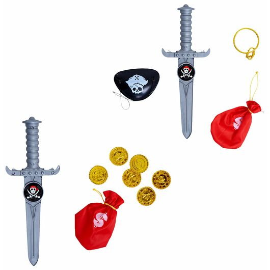 Pirat legesæt - assorterede sæt