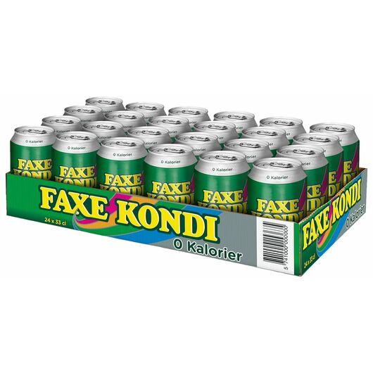 FAXE KONDI 0 Kalorier 24 x 33 cl