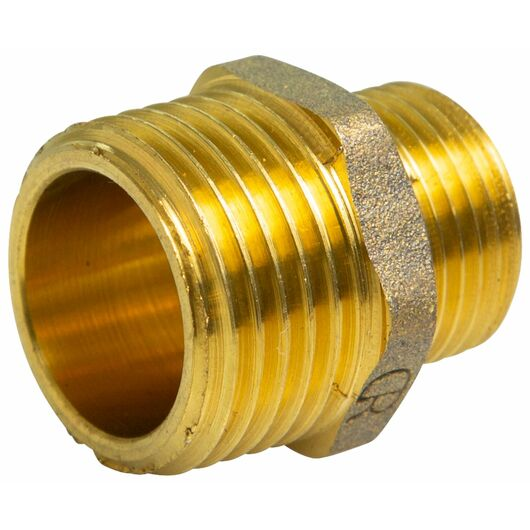 Brystnippel 3/4'' x 1/2'' - messing