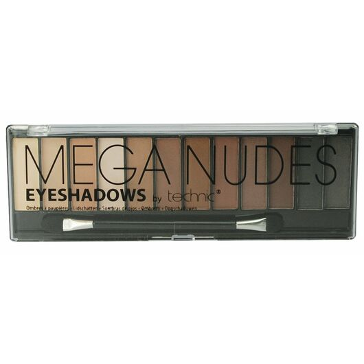 technic - Mega Nudes - Øjenskyggepalet