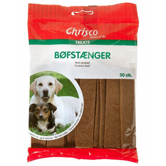 Chrisco - Bøfstænger 30-pak