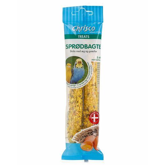 Chrisco - Sprødbagte med æg og græsfrø 2-pak