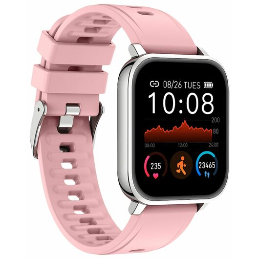 Smartwatch Android/iOS - pink