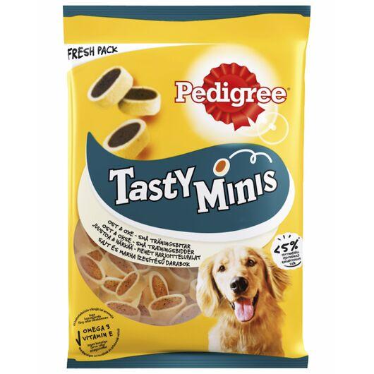 Pedigree - Tasty Minis med ost og okse 130 g