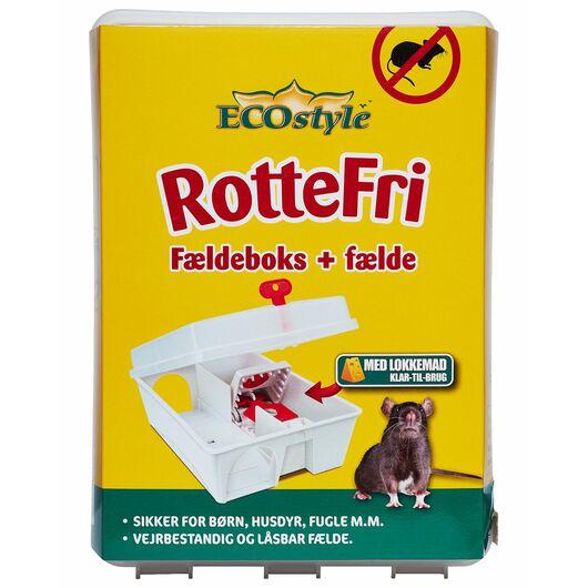 ECOstyle RotteFri - Fældeboks med fælde