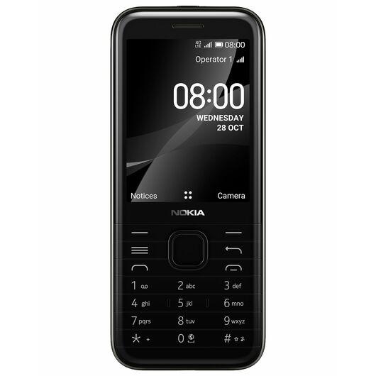 NOKIA - 8000 mobiltelefon - sort