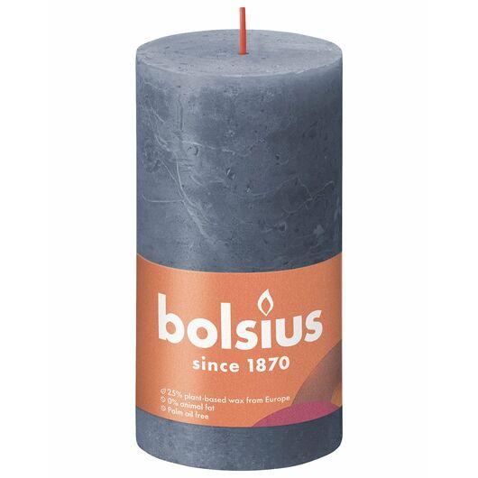 bolsius - Bloklys shine - Twillight blue