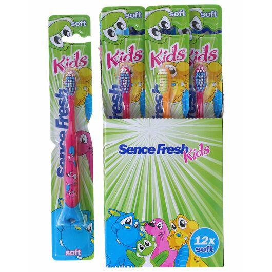 Sence - Tandbørste børn soft - assorterede farver