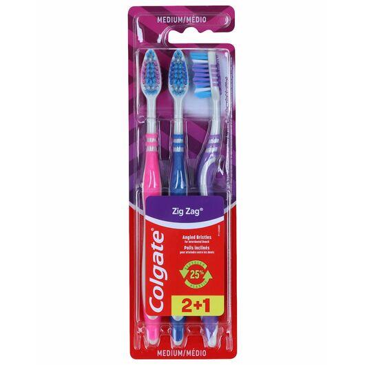 Colgate tandbørste 3-pak