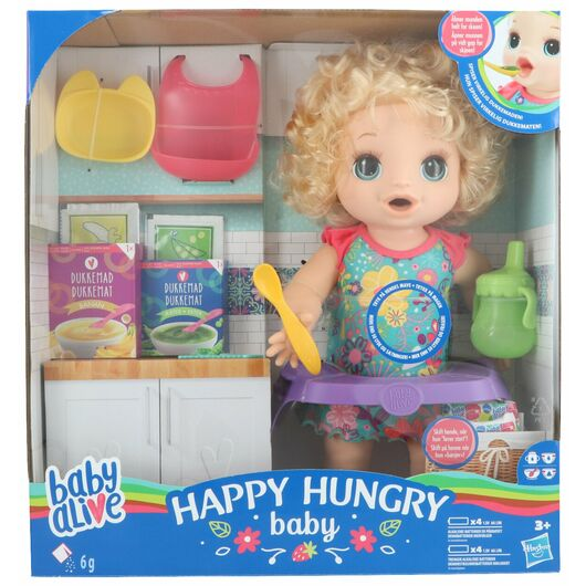 Baby Alive - Happy Hungry Baby