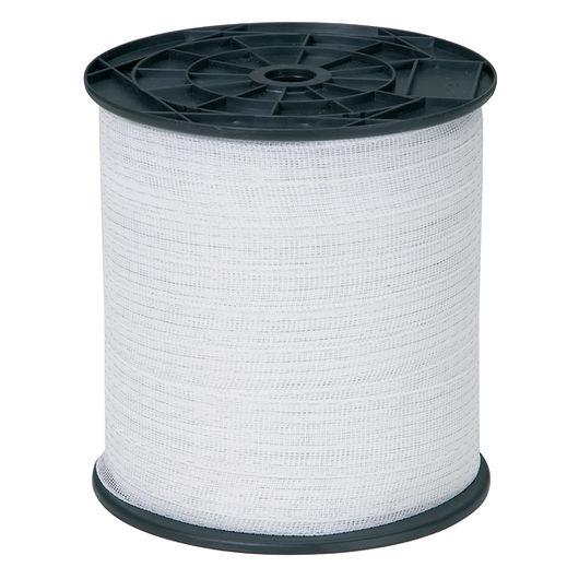 Hegnstråd 40 mm 200 m hvid nylon