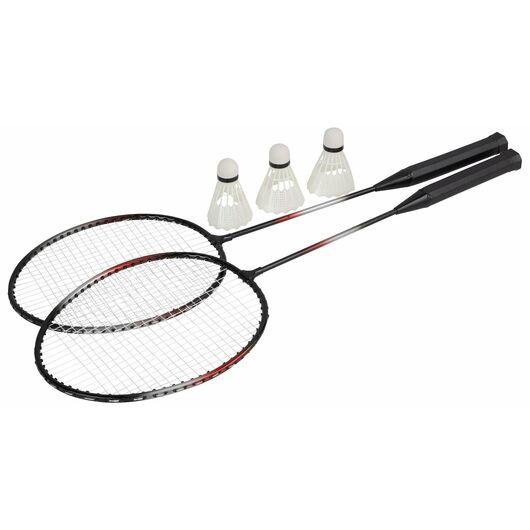 Badmintonsæt inklusiv bold
