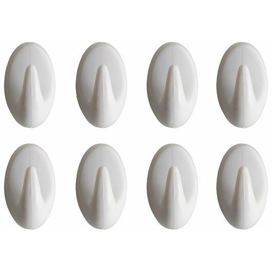 Royal Series - Kroge selvklæbende plast 8-pak