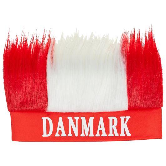 Danmark pandebånd med hår