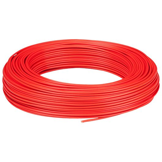 Installationskabel 1 x 1,5 mm² rød 100 m