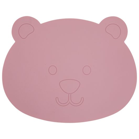 We Care Kids - Spiseunderlag silikone - rosa