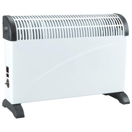 El-radiator med varmeblæser