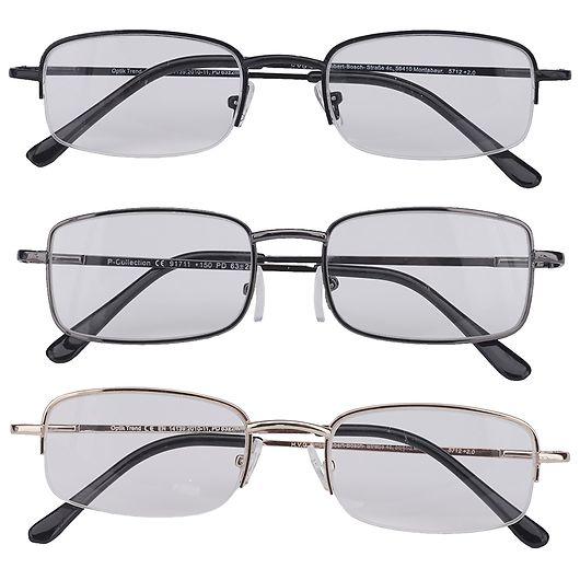 We Care Health - Læsebriller Model 10 +2.5 3-pak