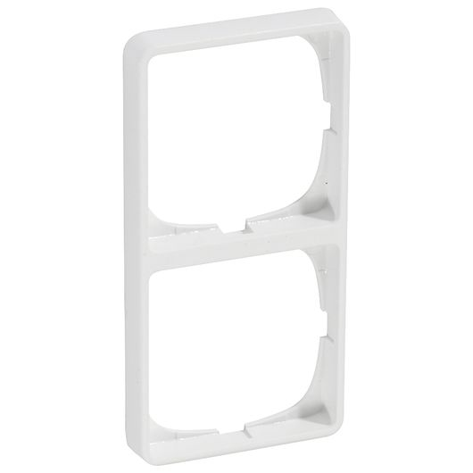 LK FUGA - Ramme BASELINE 50 2 x 1 modul hvid