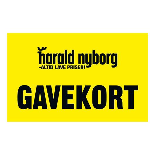 Gavekort til Harald Nyborg