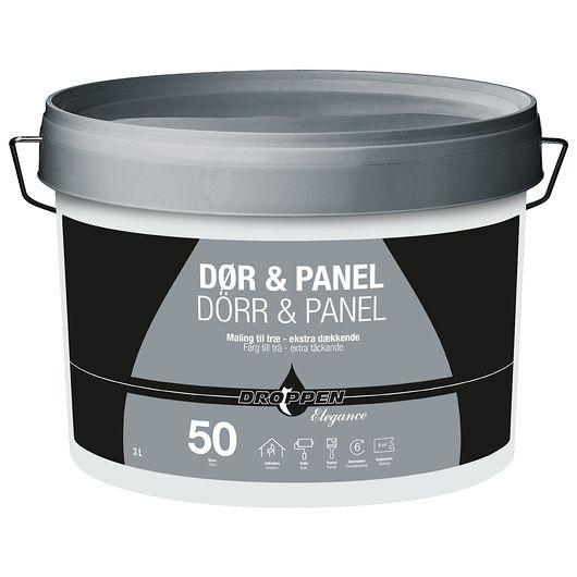 Dør og panel glans 50 modehvid 3 L