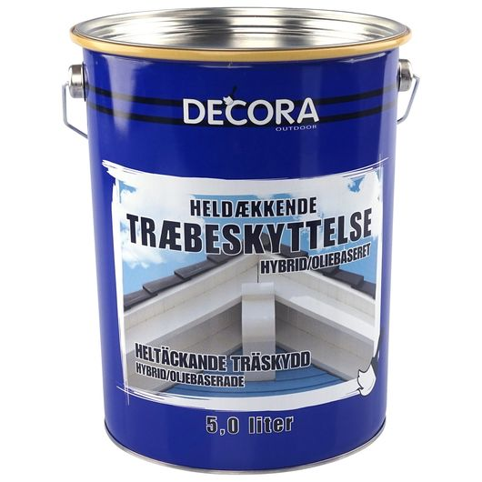 Decora - Heldækkende antrazitgrå 5 L