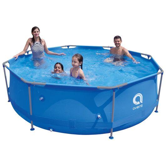 Avenli - Pool med stålramme 4.383 liter