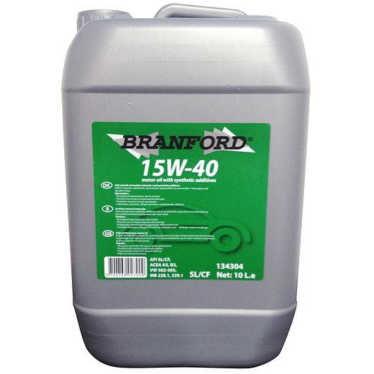 BRANFORD - Motorolie 15W-40 mineralsk  - 10 liter