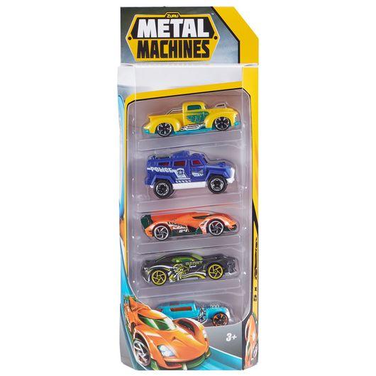 Metal Machines bil 5-pak - assorterede modeller
