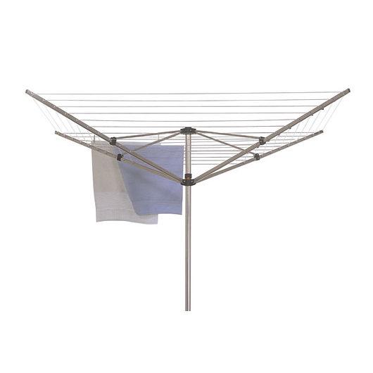 Tørrestativ 4-armet aluminium