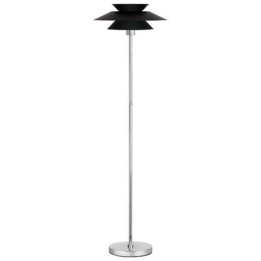 Gulvlampe Genoa E27 Ø. 40 cm sort