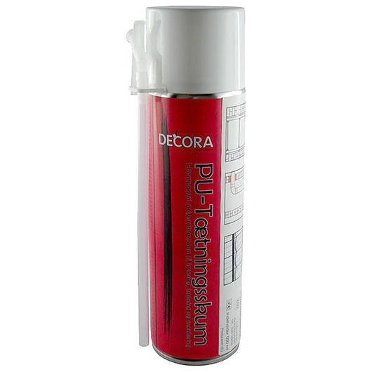 Decora PU-tætningsskum - 3 stk
