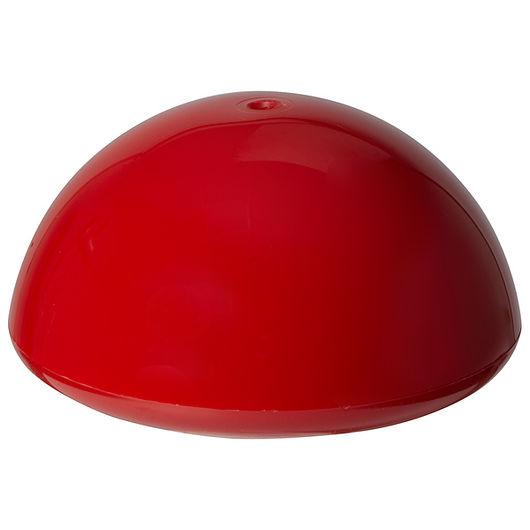 Flagknop rød 160 mm
