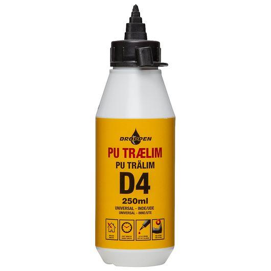 Droppen trælim pu lys 250 ml
