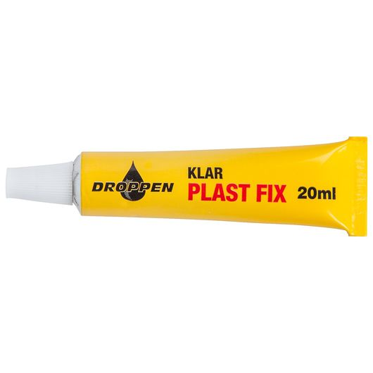 Droppen plastlim 20 ml