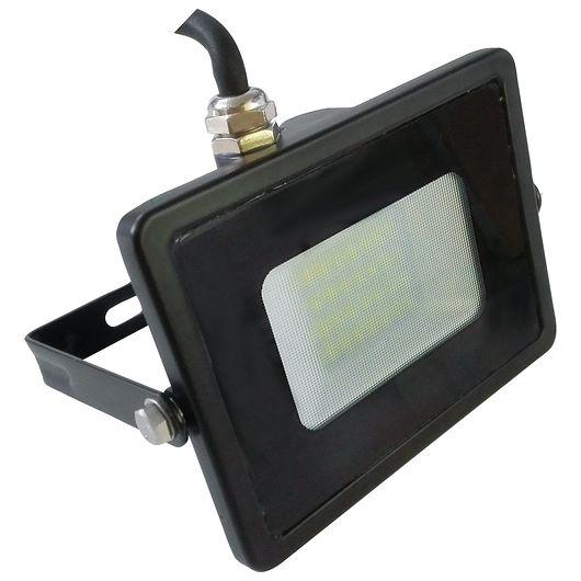 Sartano - Projektør med LED 20 W sort aluminium