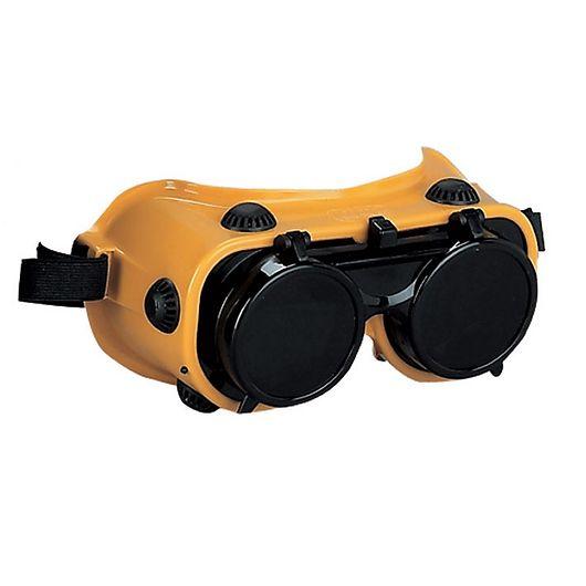 Svejsebrille med klapglas