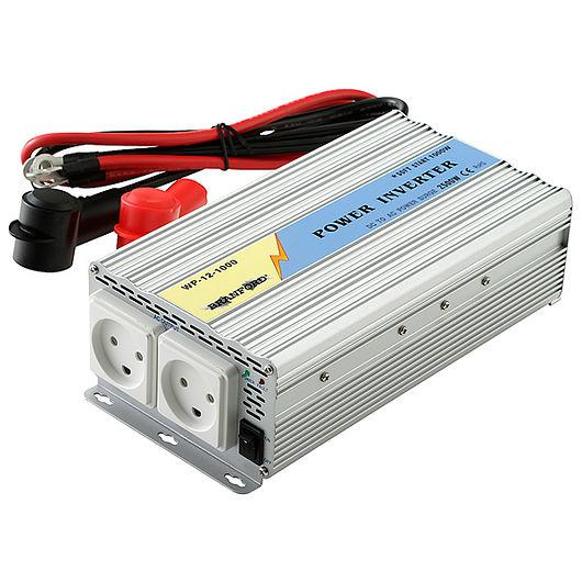 BRANFORD - Inverter/omformer 1000 W 12 V til 220 V