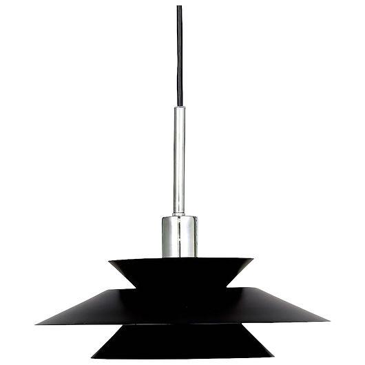 Pendel Genoa E14 Ø. 28 cm sort