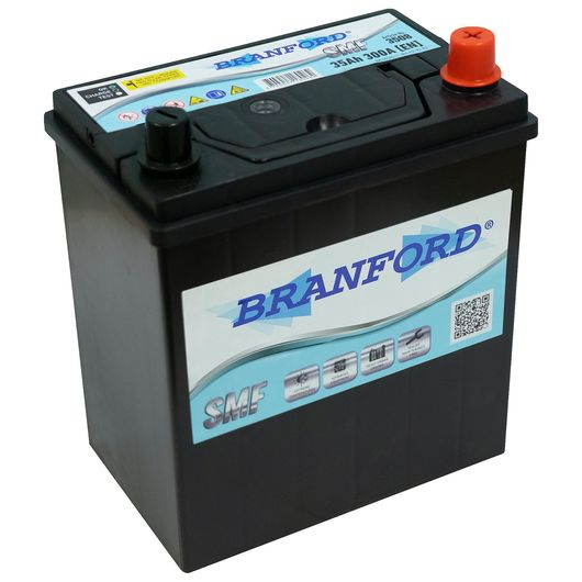 BRANFORD - Autobatteri JIS 35Ah +højre