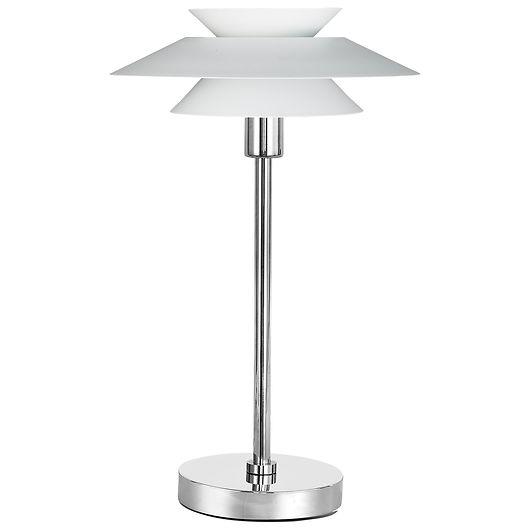 BRIGHT DESIGN - Bordlampe Genoa E14 Ø.28 cm - hvid